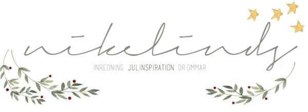 Nikelinds- inredning och julinspiration